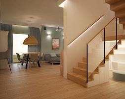 Dom pod Warszawą - Hol / przedpokój, styl nowoczesny - zdjęcie od PUKU STUDIO - Homebook