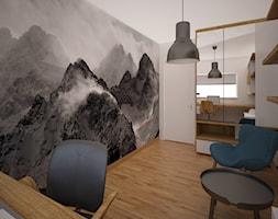 Mieszkanie w bloku - Biuro, styl skandynawski - zdjęcie od PUKU STUDIO - Homebook