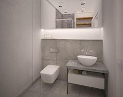 Mieszkanie w bloku - Łazienka, styl nowoczesny - zdjęcie od PUKU STUDIO - Homebook