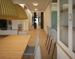 Dom pod Warszawą - Jadalnia, styl nowoczesny - zdjęcie od PUKU STUDIO - Homebook
