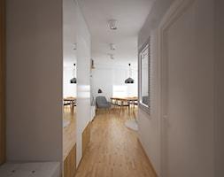 Mieszkanie w bloku - Hol / przedpokój, styl skandynawski - zdjęcie od PUKU STUDIO - Homebook