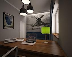 Dom pod Warszawą - Biuro, styl nowoczesny - zdjęcie od PUKU STUDIO - Homebook