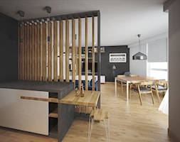 Mieszkanie w bloku - Salon, styl skandynawski - zdjęcie od PUKU STUDIO - Homebook