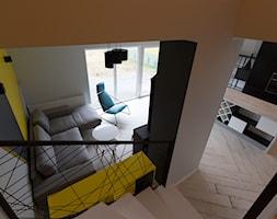 Dom w Szamotułach - Salon, styl nowoczesny - zdjęcie od PUKU STUDIO - Homebook