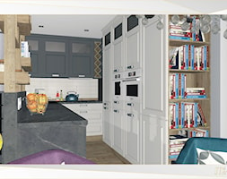 Kuchnia+w+apartamencie+letnim+w+Ko%C5%82obrzegu+-+zdj%C4%99cie+od+JTK-interiors