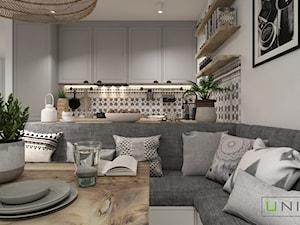 Mieszkanie - Jadalnia, styl skandynawski - zdjęcie od UNIQUE INTERIOR DESIGN