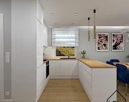 Biały połysk w kuchni - Kuchnia, styl nowoczesny - zdjęcie od KRU design - Homebook