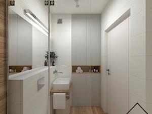 White&wood w łazience