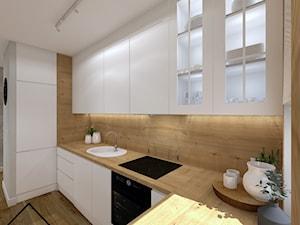 White&wood projekt kuchni