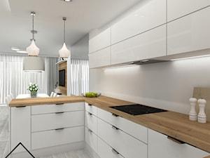 Biała kuchnia styl nowoczesny