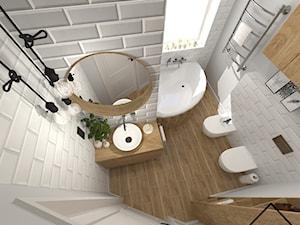 Łazienka w cegiełce