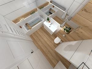 Biała Łazienka styl nowoczesny