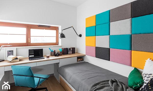 tapicerowana ściana