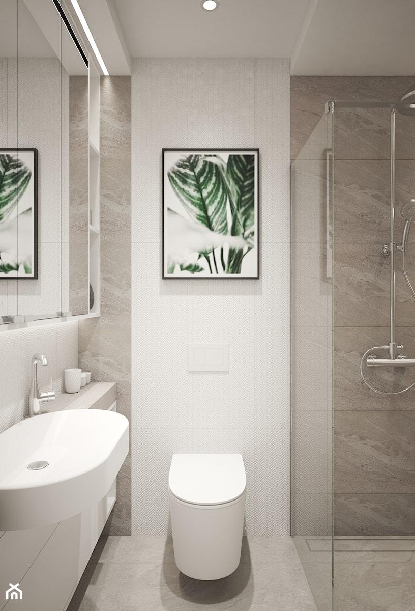Łazienki w domu jednorodzinnym - Łazienka, styl nowoczesny - zdjęcie od Taki Projekt