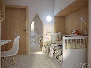 Ciepły pokój, który zmienia się wraz z rozwojem dziecka - zdjęcie od CZYSTA FORMA