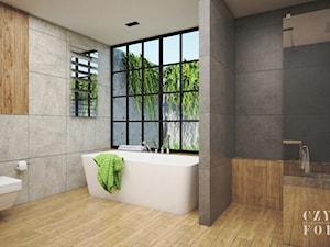 Surowa łazienka