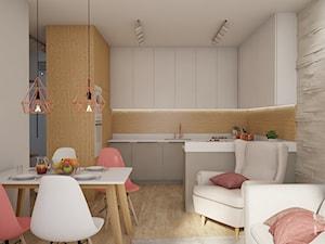 Open space w bieli i drewnie - zdjęcie od CZYSTA FORMA