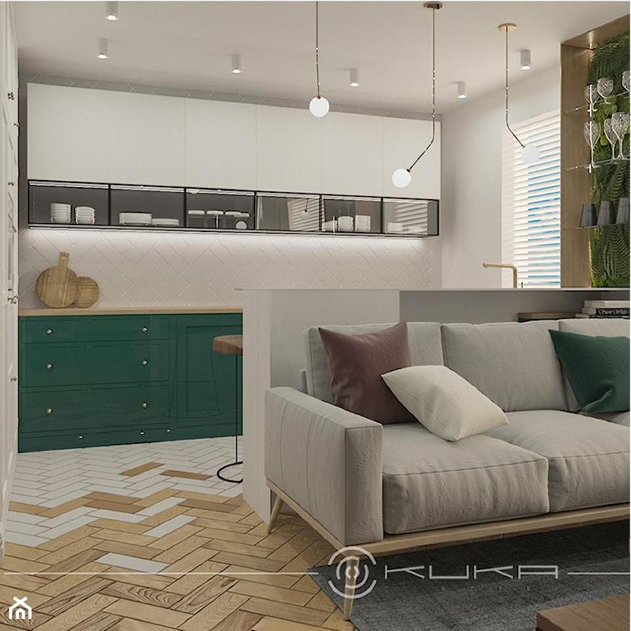 Mieszkanie, Wola - Salon - zdjęcie od KUKA Concept