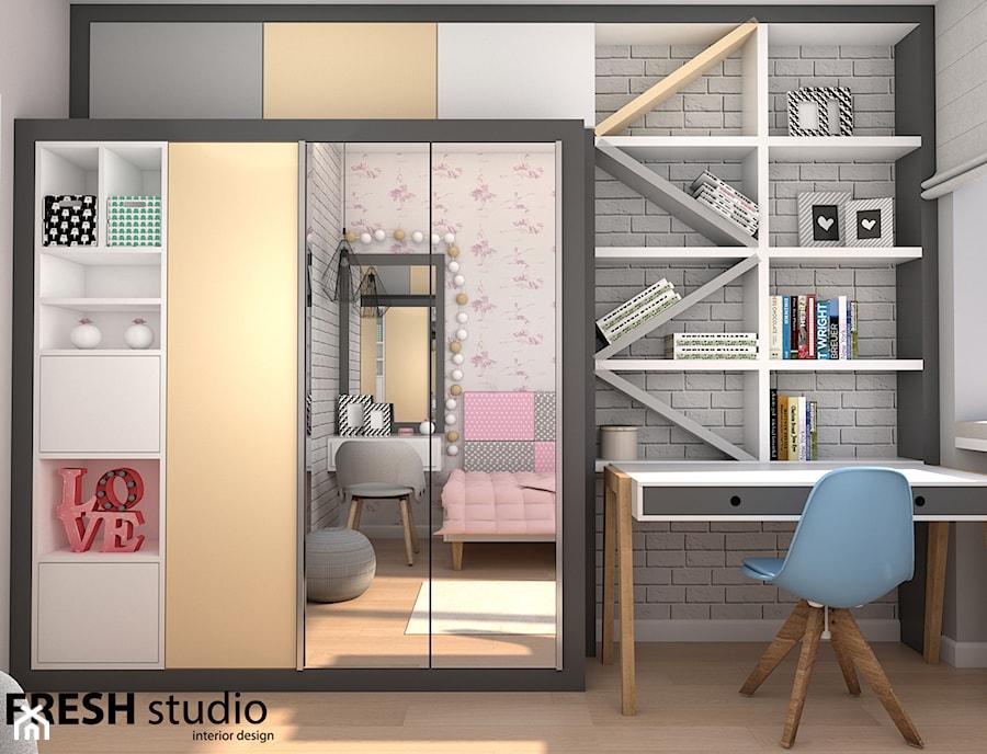 pokój nastolatki nowoczesny FRESHstudio - zdjęcie od FRESHstudio