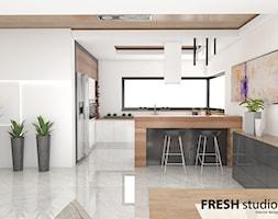 kuchnia styl nowoczesny FRESHstudio - zdjęcie od FRESHstudio