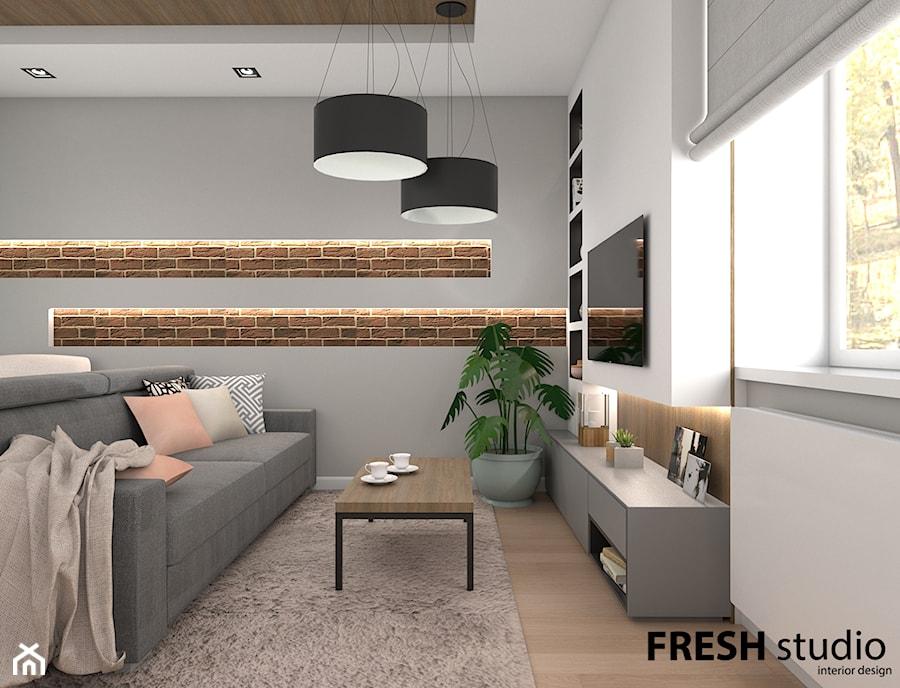 salon nowoczesny FRESHstudio - zdjęcie od FRESHstudio