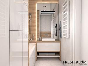 łazienka nowoczesna FRESHstudio - zdjęcie od FRESHstudio