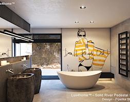 Umywalki z kamienia naturalnego - stojące. - zdjęcie od Lux4home™ - Homebook