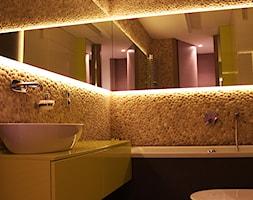 Beżowy otoczak - mozaiki z otoczaków na ściany - zdjęcie od Lux4home™