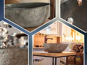 Umywalki z kamienia naturalnego Lux4home™