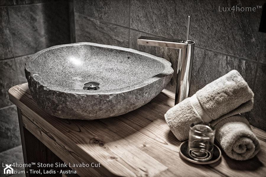 Umywalka Z Kamienia Polnego Otoczaka Na Blat Do łazienki