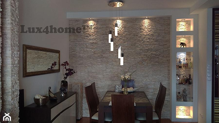ściany Z Kamienia W Salonie łupek Kamienny R240 Lux4home