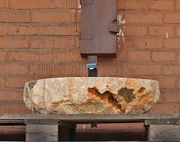 Umywalki z kamienia naturalnego - prawdziwy onyks - zdjęcie od Lux4home™ - Homebook