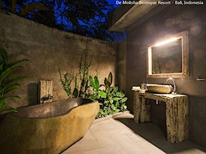 Kamienna wanna w hotelu / SPA - wanny z kamienia naturalnego od Lux4home™ - zdjęcie od Lux4home™