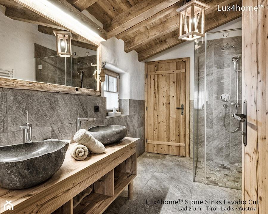 Umywalki kamienne do łazienki - umywalka z kamienia naturalnego - zdjęcie od Lux4home™