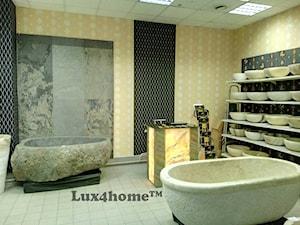Sklepy z wyposażeniem łazienek - produkty z kamienia