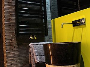 wolnostojąca umywalka kamienna - stojące umywalki - zdjęcie od Lux4home™