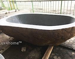 Wanna z kamienia naturalnego - producent - zdjęcie od Lux4home™ - Homebook