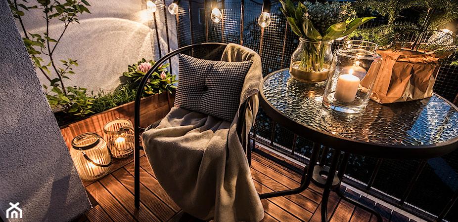 Oświetlenie balkonu – pomysły, inspiracje i porady