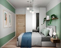 61 m2 w Warszawie - Sypialnia - zdjęcie od Szkic Design - Projektowanie wnętrz - Homebook