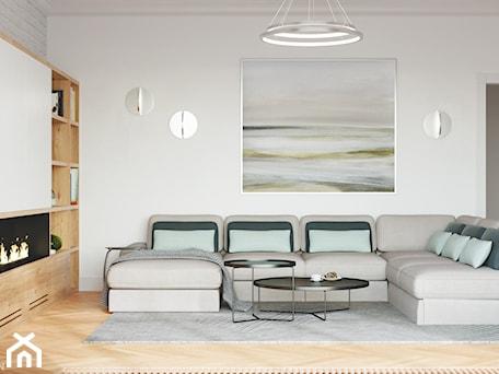 Aranżacje wnętrz - Salon: Rezydencja w Bielanach - Salon, styl nowoczesny - Szkic Design - Projektowanie wnętrz . Przeglądaj, dodawaj i zapisuj najlepsze zdjęcia, pomysły i inspiracje designerskie. W bazie mamy już prawie milion fotografii!