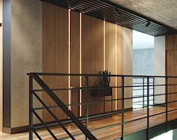 LOFT U - Hol / przedpokój, styl industrialny - zdjęcie od Szkic Design - Projektowanie wnętrz - Homebook