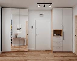 61 m2 w Warszawie - Hol / przedpokój - zdjęcie od Szkic Design - Projektowanie wnętrz - Homebook