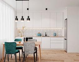 61 m2 w Warszawie - Kuchnia - zdjęcie od Szkic Design - Projektowanie wnętrz - Homebook