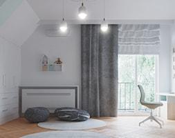 Rezydencja w Bielanach - Pokój dziecka, styl skandynawski - zdjęcie od Szkic Design - Projektowanie wnętrz - Homebook