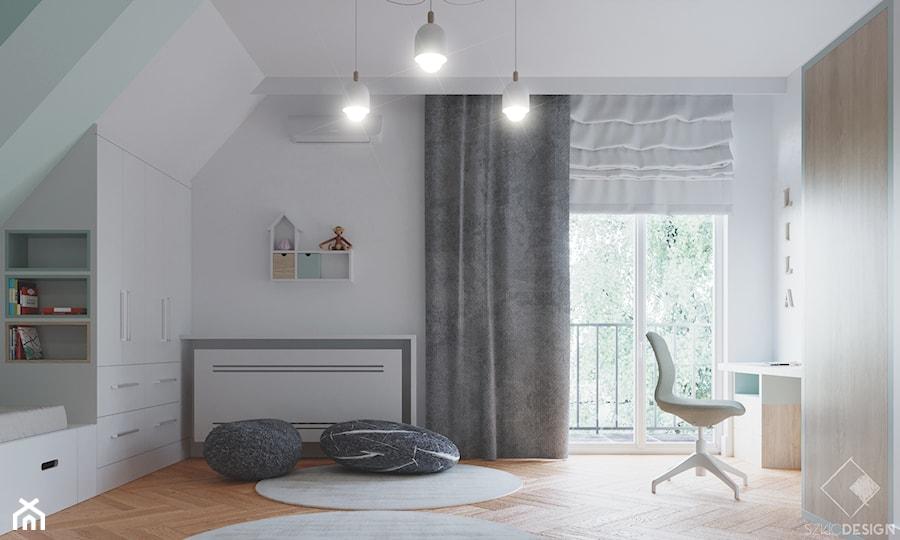 Rezydencja w Bielanach - Pokój dziecka, styl skandynawski - zdjęcie od Szkic Design - Projektowanie wnętrz