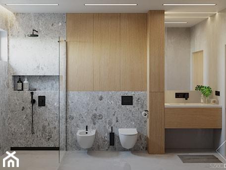 Aranżacje wnętrz - Łazienka: Dom w Grabinie - Łazienka, styl minimalistyczny - Szkic Design - Projektowanie wnętrz . Przeglądaj, dodawaj i zapisuj najlepsze zdjęcia, pomysły i inspiracje designerskie. W bazie mamy już prawie milion fotografii!