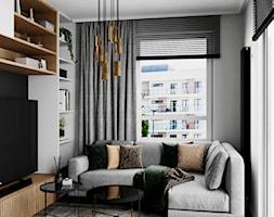 Mieszkanie w Piasecznie - Salon, styl nowoczesny - zdjęcie od Szkic Design - Projektowanie wnętrz - Homebook