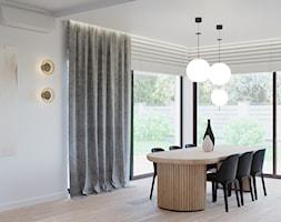 Dom w Grabinie - Jadalnia, styl minimalistyczny - zdjęcie od Szkic Design - Projektowanie wnętrz - Homebook