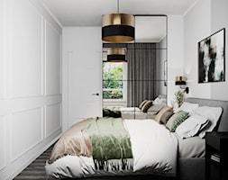 Mieszkanie w Piasecznie - Sypialnia, styl nowoczesny - zdjęcie od Szkic Design - Projektowanie wnętrz - Homebook
