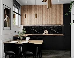 Mieszkanie w Piasecznie - Kuchnia, styl nowoczesny - zdjęcie od Szkic Design - Projektowanie wnętrz - Homebook